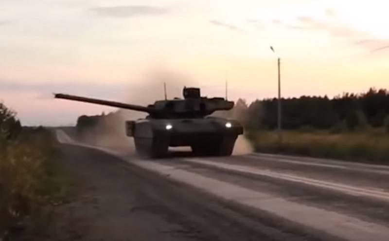 Rostekh a parlé du moment de la livraison du char T-14 Armata aux troupes
