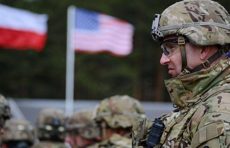 Warsaw said about a tenfold increase in U.S. troops in Poland
