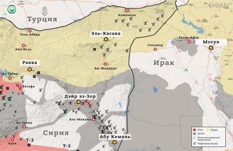 Le but est le pétrole. Les Etats-Unis ne quitteront pas la Syrie