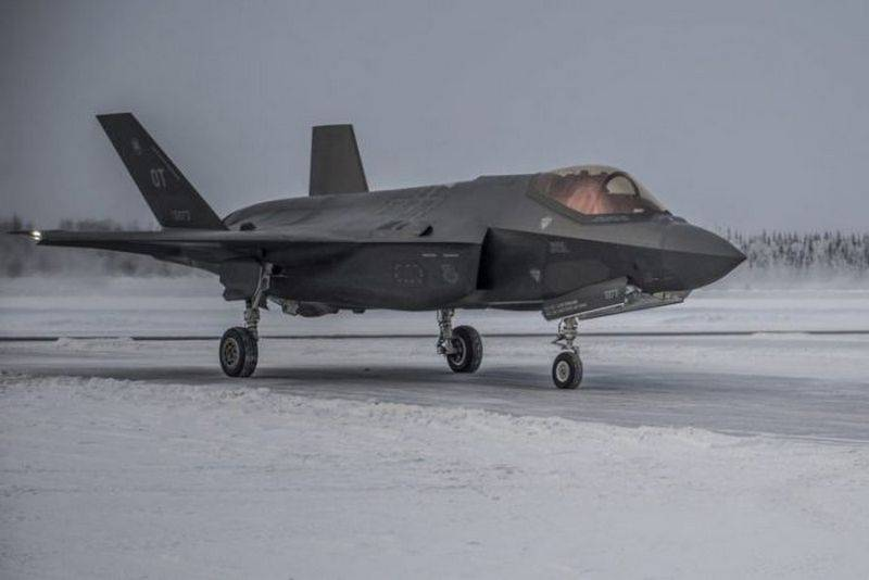 In the US, tested new survival kits in the Arctic for pilots F-35