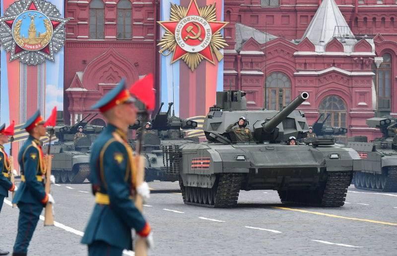 国防部宣布在胜利大游行中展示新装备