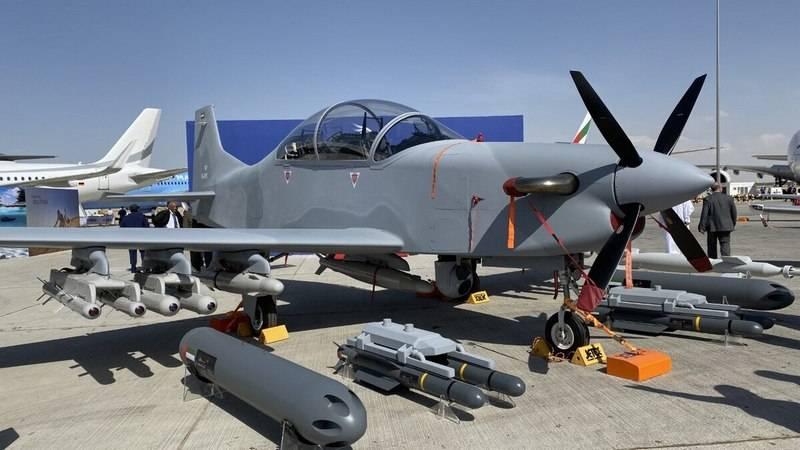 La UAE Air Force riceverà l'aereo leggero a turboelica B-250