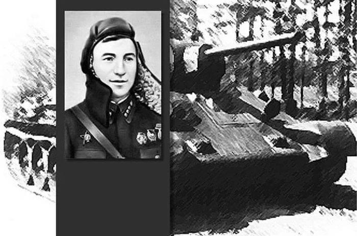 Soviet tank aces. Konstantin Samokhin