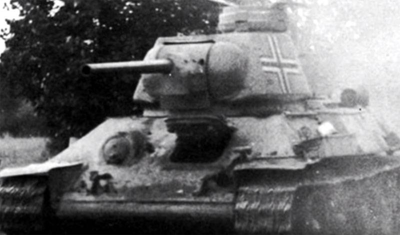 How the Nazis retrofitted T-34 captured tanks