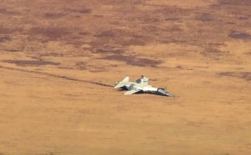 Northrop T-38 Talon Trainingsflugzeug stürzt in den USA ab