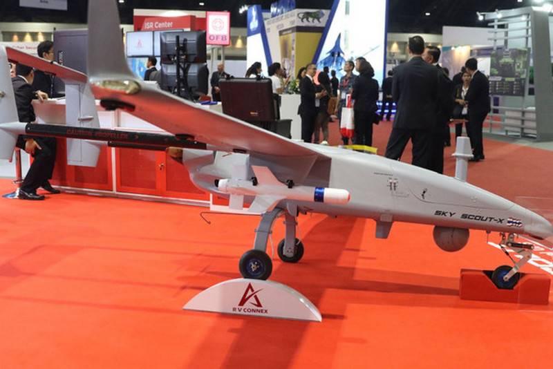 Таиланд намерен разработать собственный ударный беспилотник