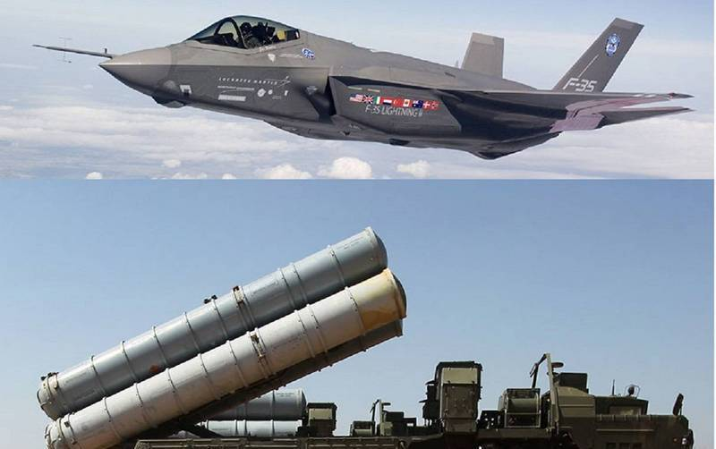 Turkey intends to combine the Russian S-400 air defense system and the American F-35