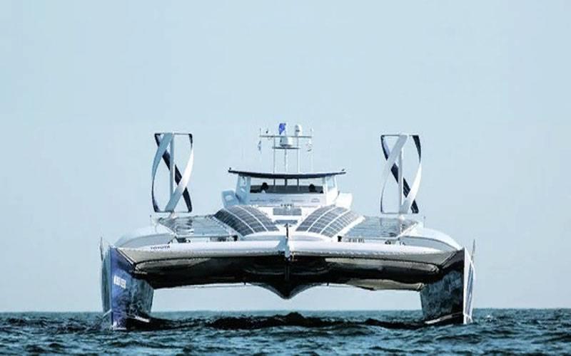 """在法国,谈论改善第一艘""""氢""""双体船"""