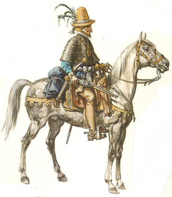 Horses and saddles of the XVI-XVII centuries