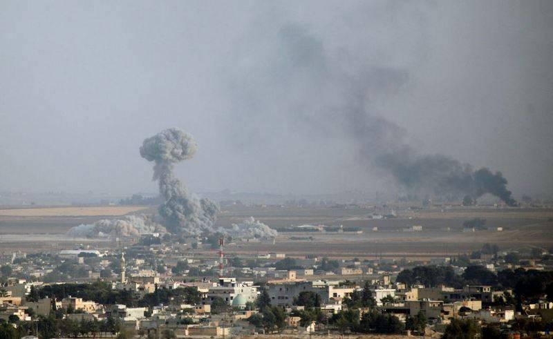 На севере Сирии возобновились бои за город Айн-Исса