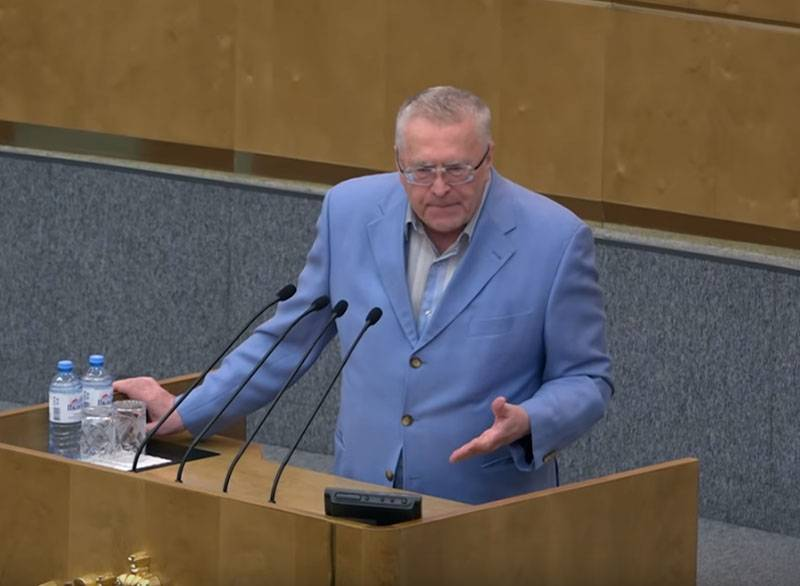 Zhirinovsky suggested not punishing Russians for exceeding the limits of permissible self-defense