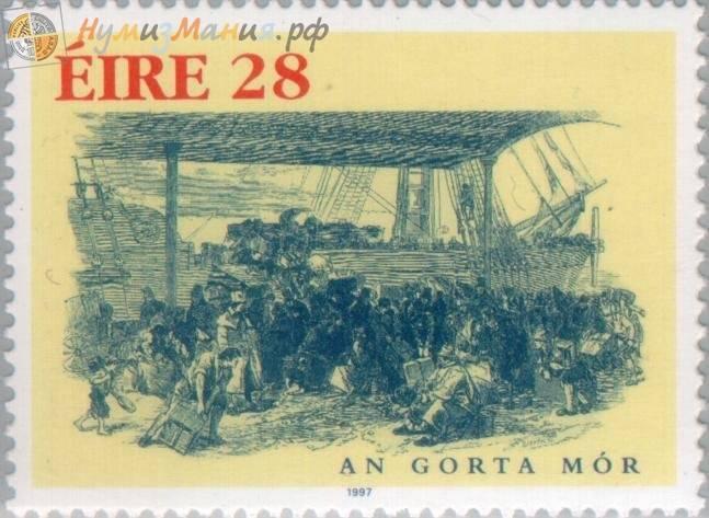 An Gorta Mor. Grande carestia in Irlanda