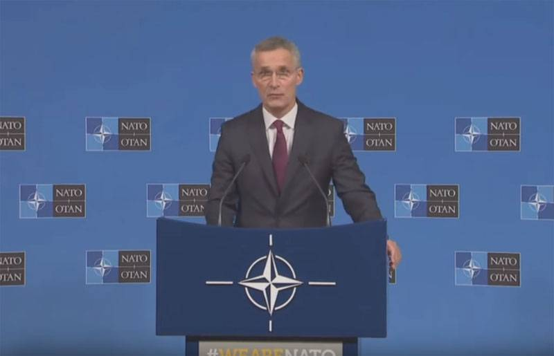 NATO Secretary General reports what signal the Alliance sends to the Baltic states