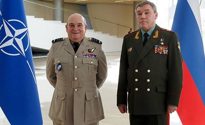 俄罗斯国防部总参谋长和北约军事委员会首脑会议在巴库举行