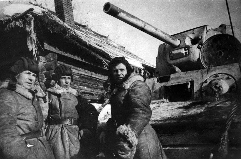 Brave tanker Alexander Burda. The hero of the great Patriotic war