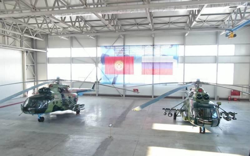 A Rússia deu helicópteros e radares modernizados ao Quirguistão