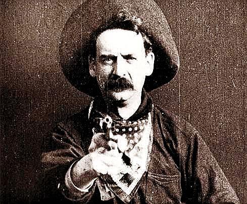 Hirten- und Kulturphänomen. Wilder Westcowboy