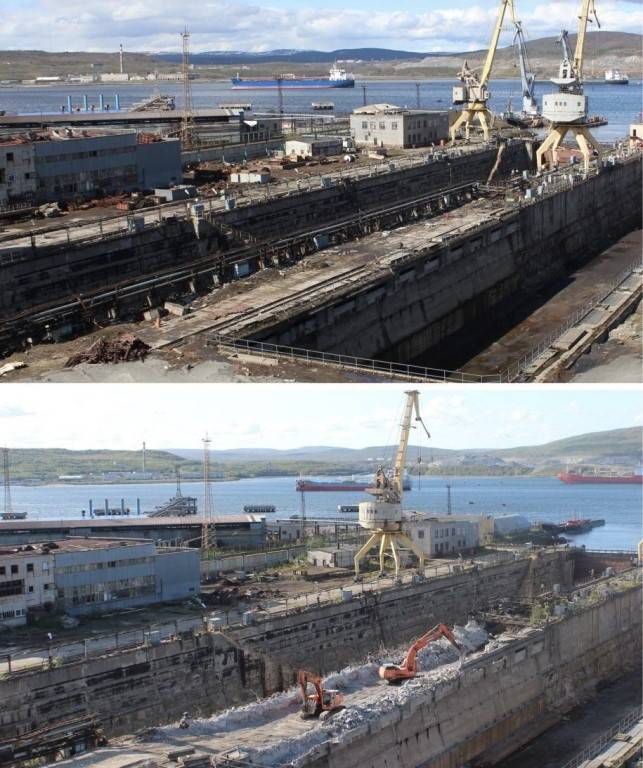 "Dry-dock for the ""Admiral"""