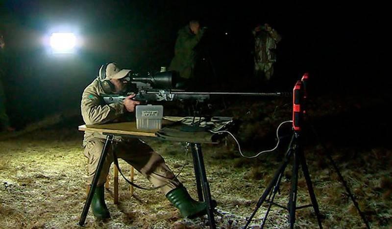 Российский стрелок поразил мишень на дальности 2 км в полной темноте