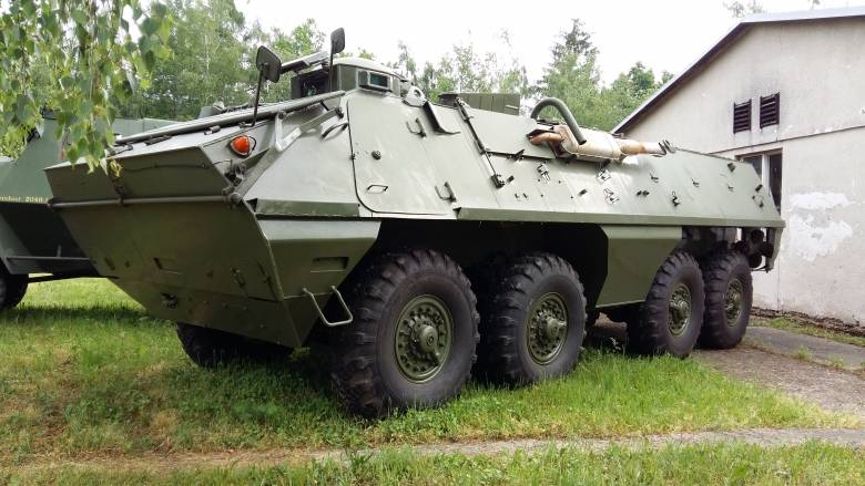 OT-64 SKOT. An armored personnel carrier, which has surpassed BTR-60