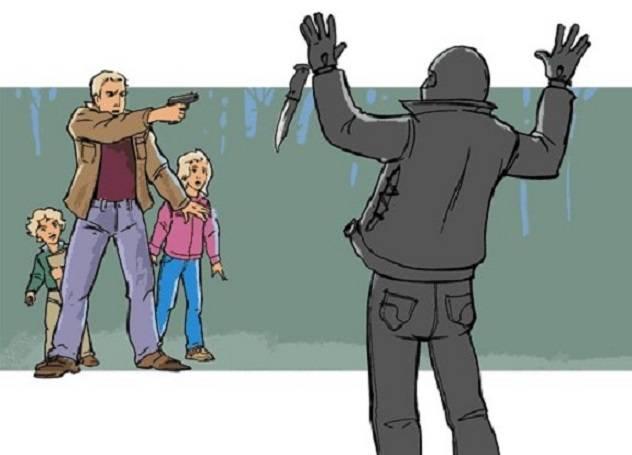 Selbstverteidigung in Russland: Leben oder Freiheit?