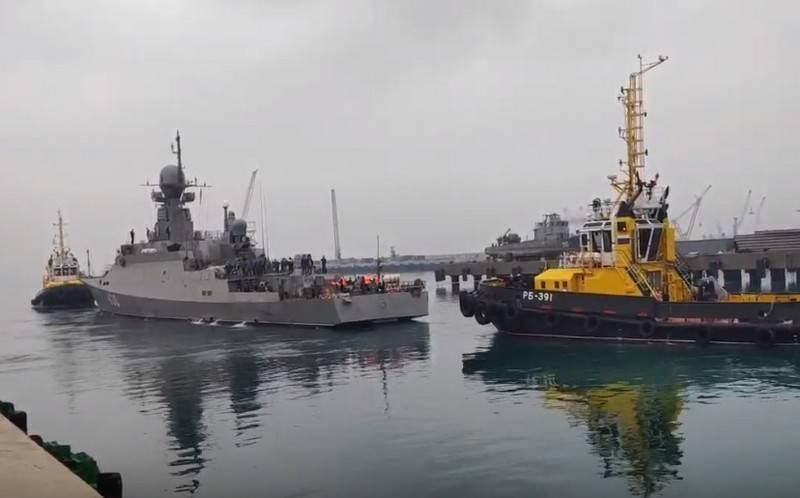 21631 프로젝트 (Buyan-M)의 RTO Ingushetia는 12 월 말 흑해 함대를 보충 할 것입니다