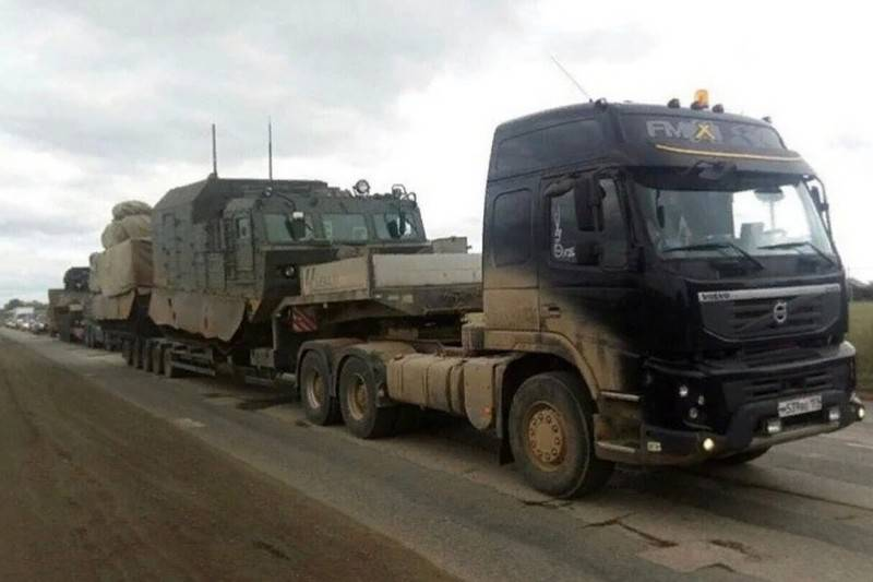 """In the Network there were new photos of 120-mm self-propelled guns """"Magnolia"""""""