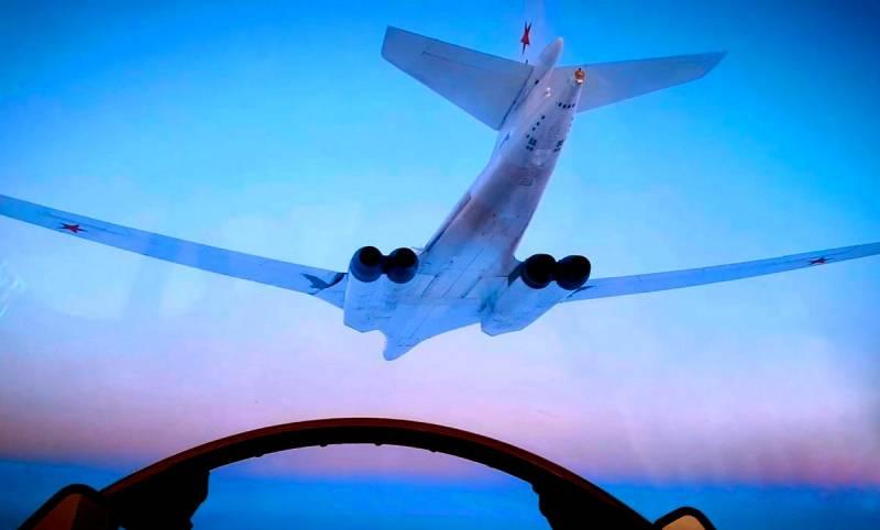 Sohu рассказало, как Ту-160 на форсаже ушел от японских F-35