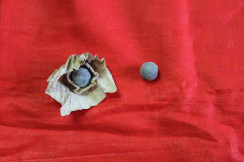 «Маленькое открытие в прикладе аркебузы…»