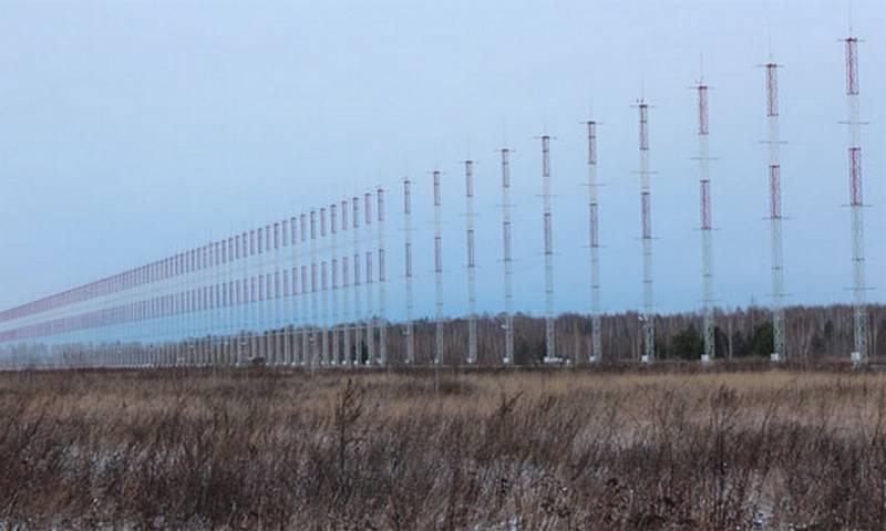 Минобороны Российской Федерации планирует сделать сплошное радиолокационное поле вдоль границ страны