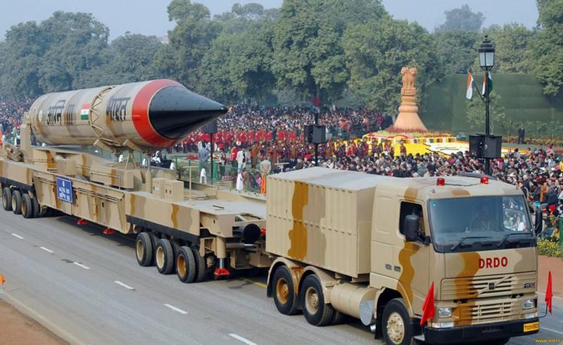 "India conducted a successful launch ICBMs, medium-range ""Agni-3"""