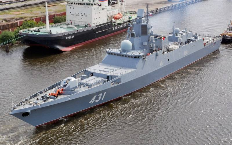 Commander in chief of the Russian Navy announced which ships will join the fleet before year end