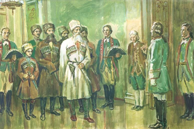 Первое осетинское посольство в России: вопреки интригам и войне