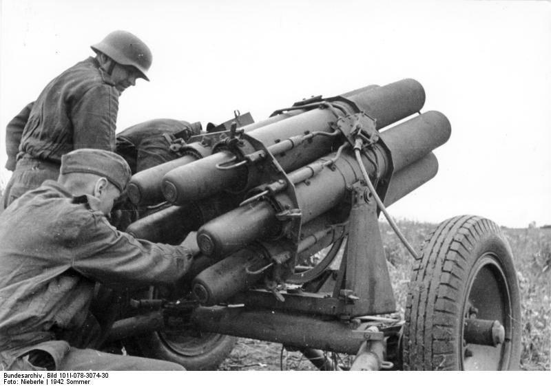 На любую технику. Реактивные миномёты семейства Nebelwerfer (Германия)