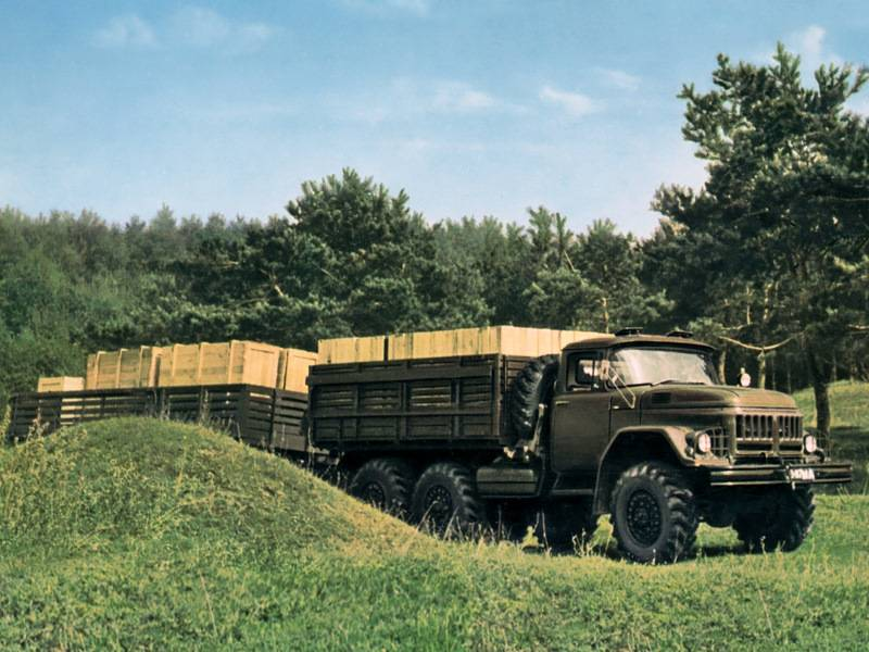 ZIL-131. The last hero of the Likhachev plant