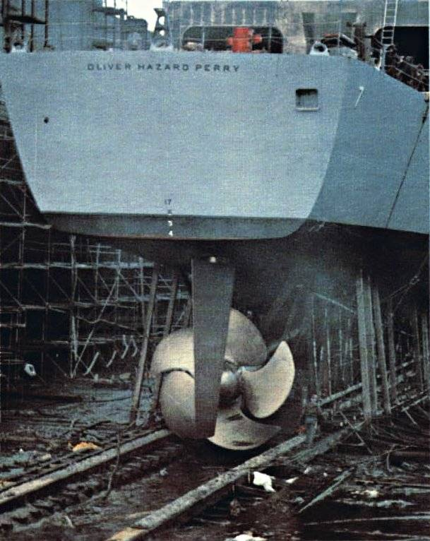 When saving is dangerous for the ship: the truth about frigates Oliver H. Perry