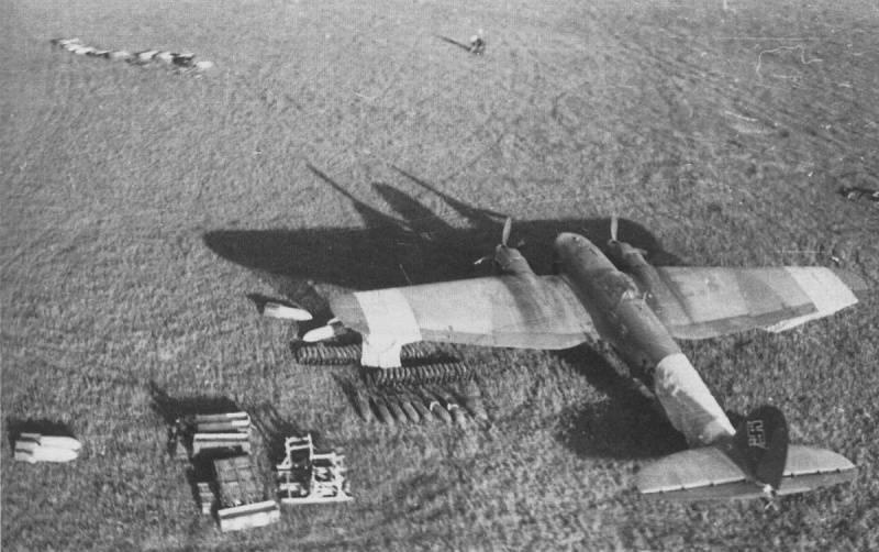 Der Teufel steckt im Detail: fast die gleichen Ju.88- und He.111-Bomber