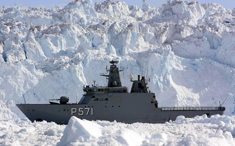 Denmark will triple defense spending in the Arctic against