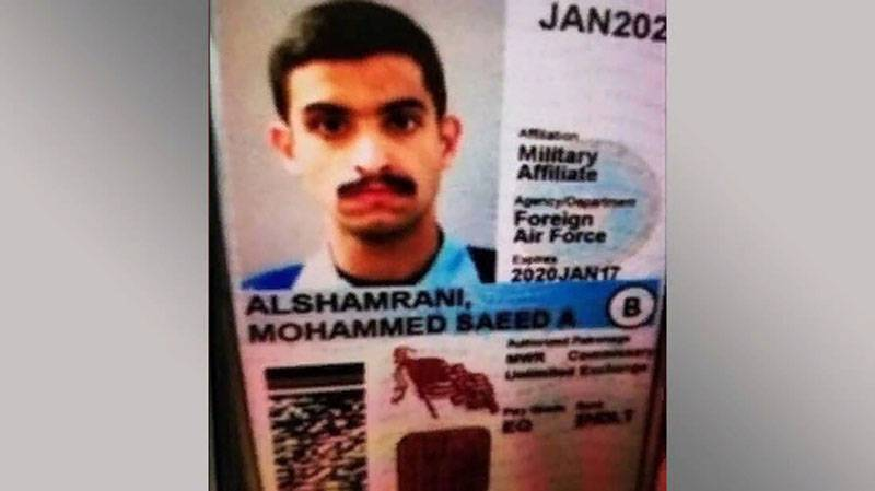 Shooting at the US air base opened a Saudi soldier
