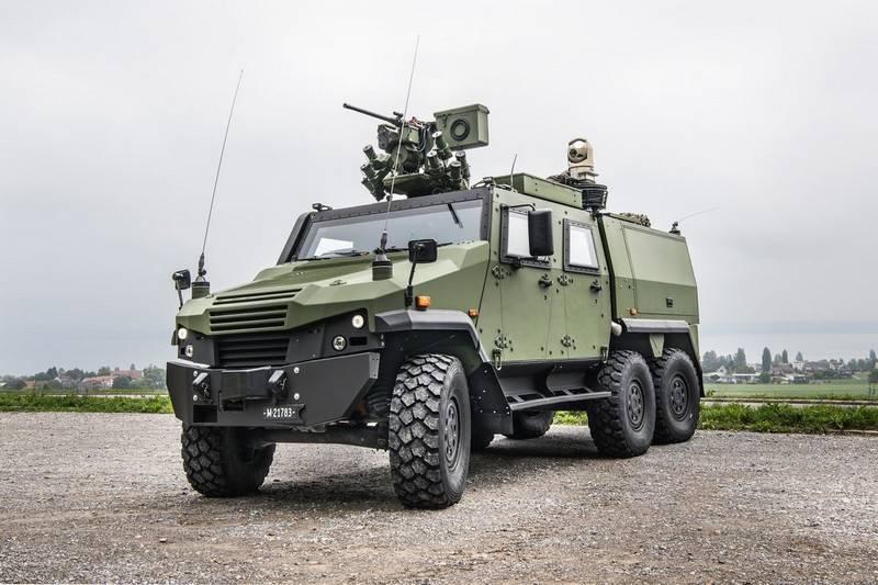 L'armée suisse achète des véhicules de renseignement basés sur Eagle 6x6