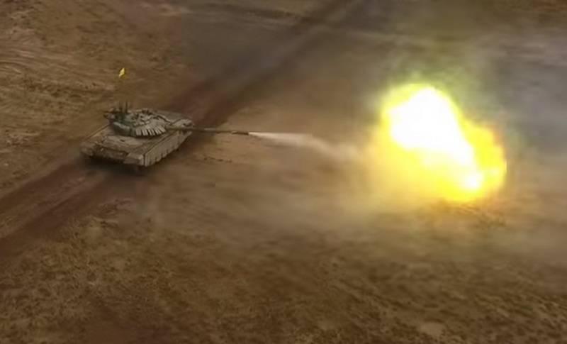 Безупречная стрельба из белорусского Т-72Б попала на видео
