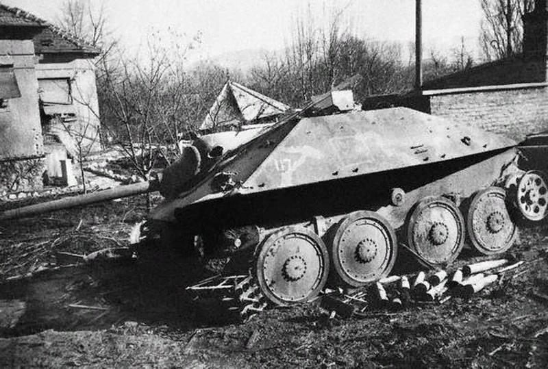 О недостатках «истребителя танков» «Хетцер» от одного из командиров самоходки