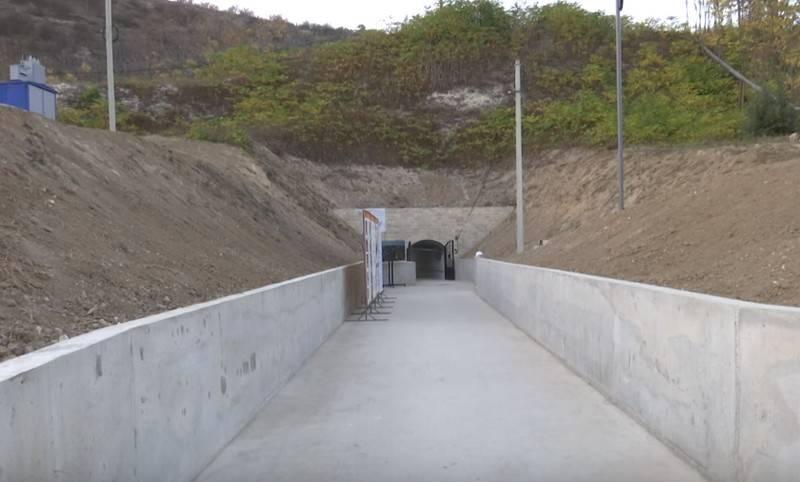 В Крыму ввели в строй восстановленное подземное хранилище ГСМ советских времён