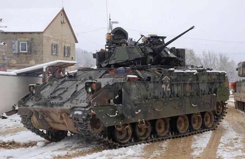 Армия Хорватии вооружается американскими БМП М2A2 Bradley ODS