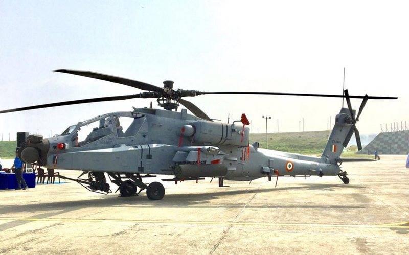 ВВС Индии получили очередные четыре вертолёта AH-64E Apache Guardian