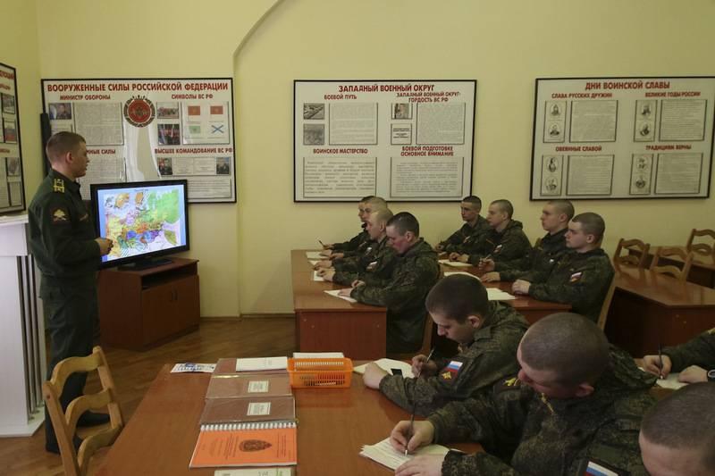Минобороны вводит в ВС РФ новую должность помощника политработника