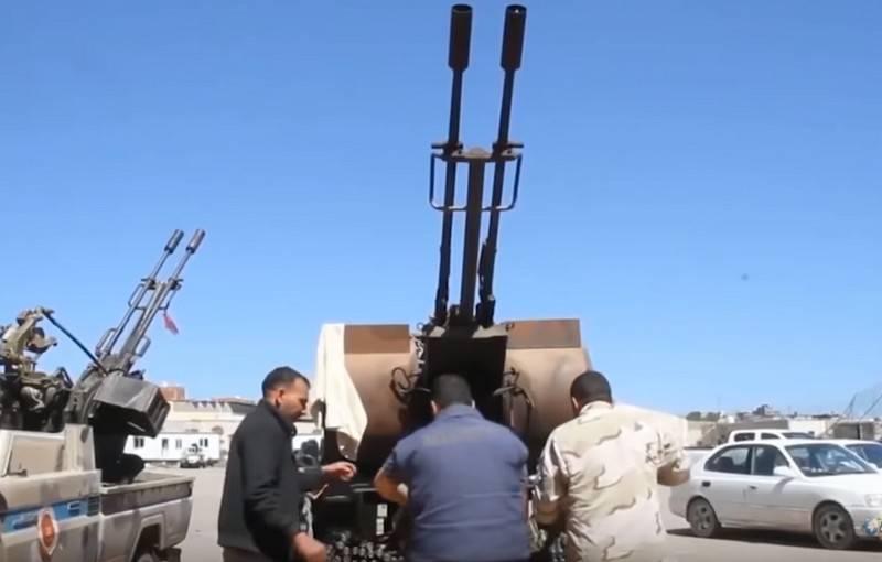 Ливийская национальная армия Хафтара начала решающее наступление на Триполи