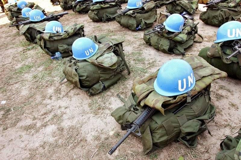 В Киеве вновь напомнили о желании разместить миротворцев ООН в Донбассе