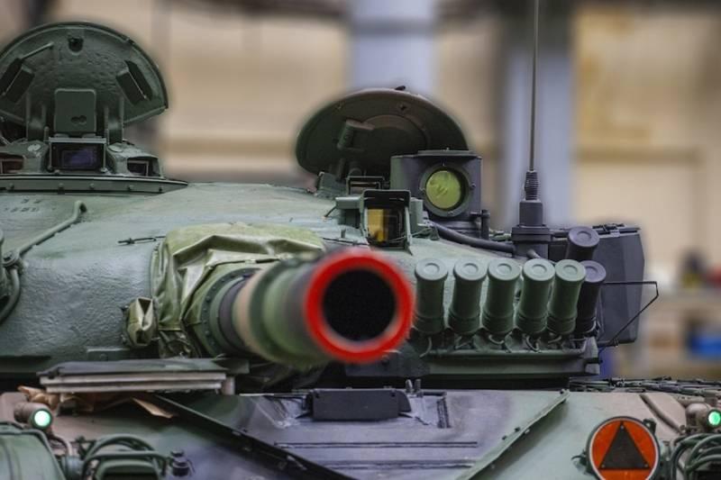 Польская армия начала получать модернизированные танки Т-72М1