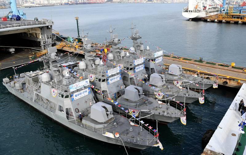 Navy of South Korea armed boats to counter North Korea